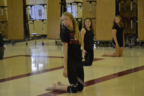 Winterguard team prepares for tougher competitions