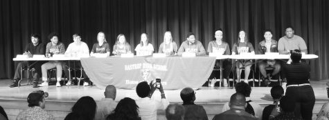 Athletes commit to colleges