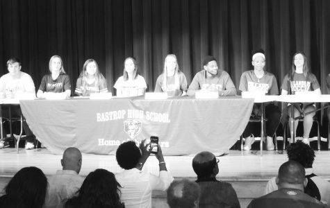 Twelve seniors signed with colleges or universities on Feb. 1.