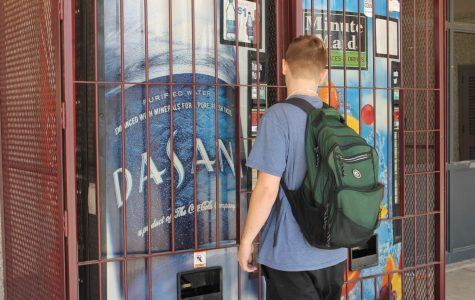 Students want more vending machines