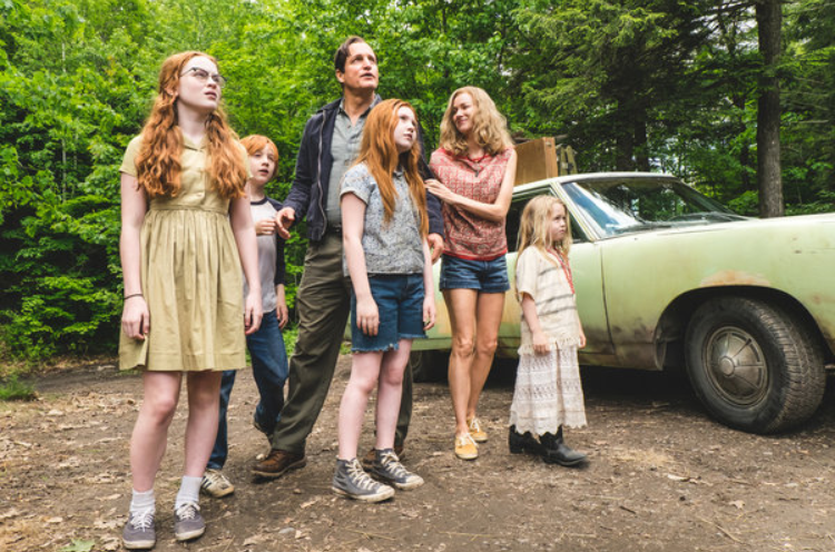 """The Glass Castle"" is an adaption of the memoir of the journalist Jeanette Walls as it follows her through her rough journey through childhood to her apparently easily life as an adult.  It tells the story of a dysfunctional family and the troubles behind the appearance."