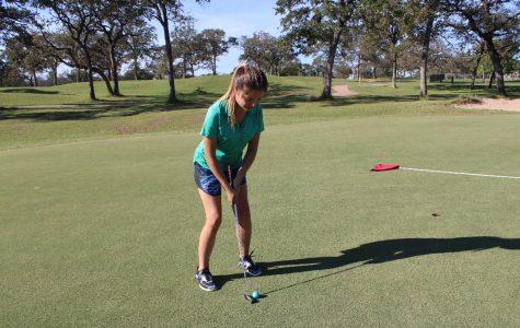 Girls golf team striving for district