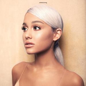 Album cover for Ariana Grande's latest album, Sweetener.
