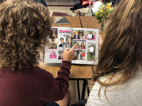 Bear Tracks yearbook staff excelling in 2019 yearbook creation