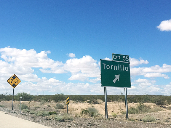 Many who pass through the borderland find themselves in small towns outside of major cities such as Tornillo.