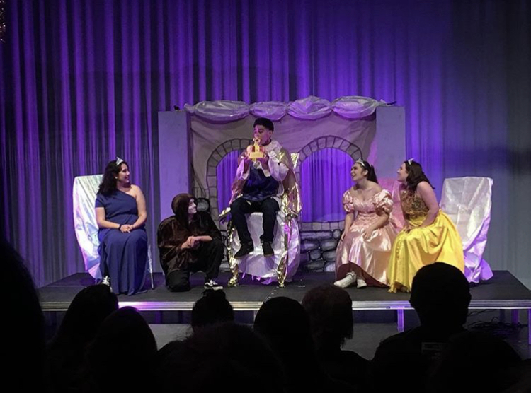 The Bear Stage Theatre company performs their parody of Game of Thrones, Game of Tiaras.