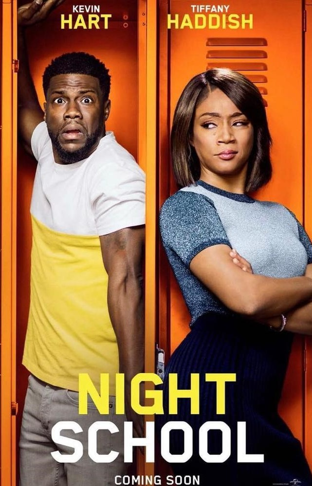 With Kevin Hart and Tiffany Haddish the main charters of the movie, Night School appeared in theaters September 28.