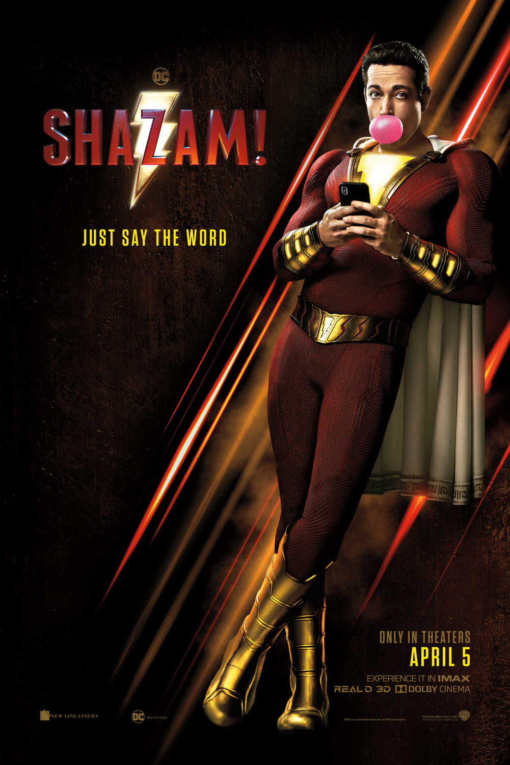 The most charming and hilarious superhero from the DC comics, Shazam! zoomed into theaters on April 5, 2019.