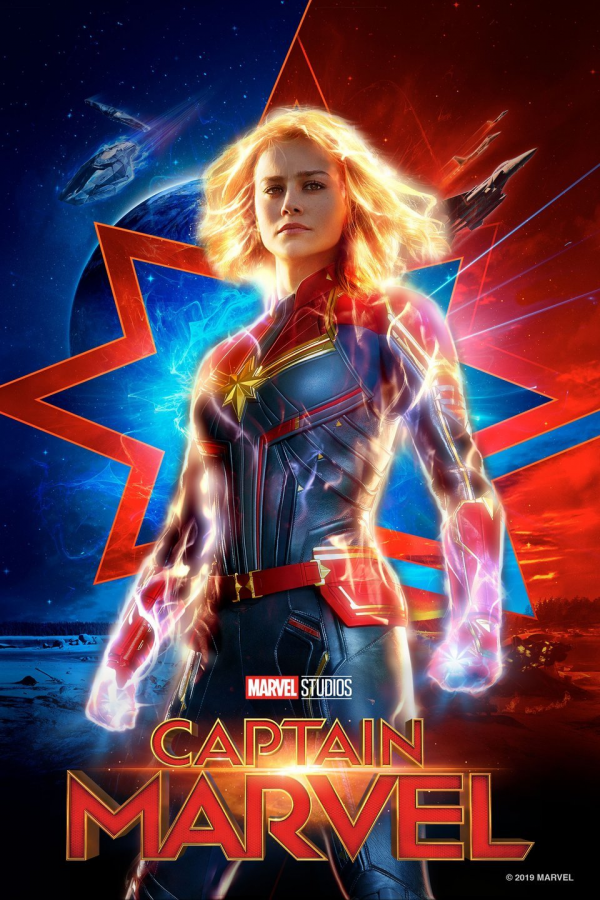 Being+the+first+female-led+superhero+movie+in+the+Marvel+Cinematic+Universe%2C+Captain+Marvel+brings+the+power+behind+the+punch.+Captain+Marvel+appeared+in+theaters+March+8.
