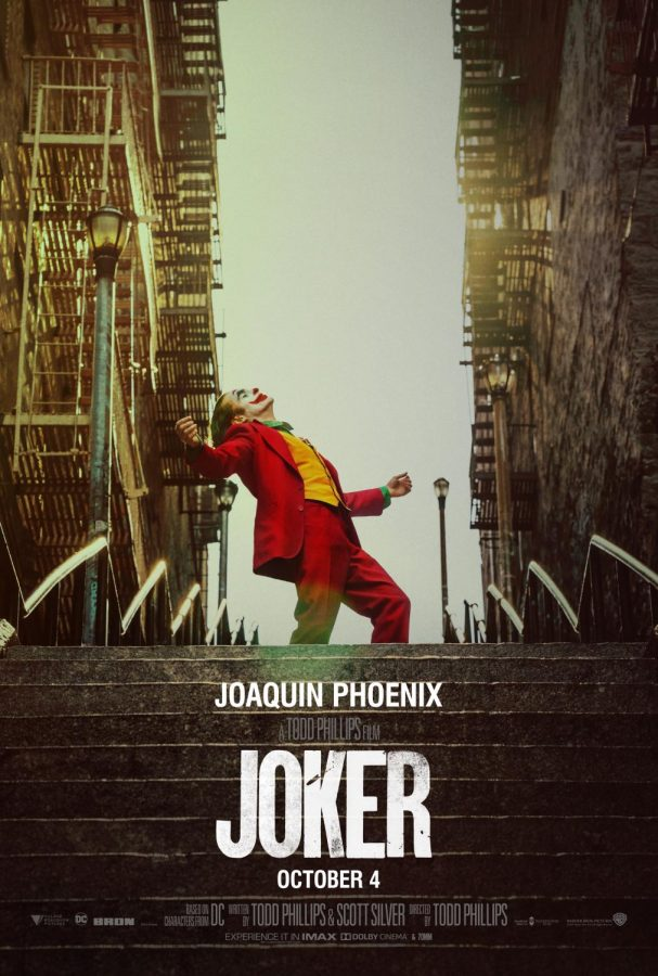 With+a+groundbreaking+performance+by+Joaquin+Phoenix%2C+Joker+explores+dark+themes+unlike+any+other+DC+comic+series.+Joker+appeared+in+theaters+on+October+4%2C+2019.+