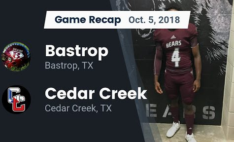 Rivalry Game: The Creek Drowns the Bears