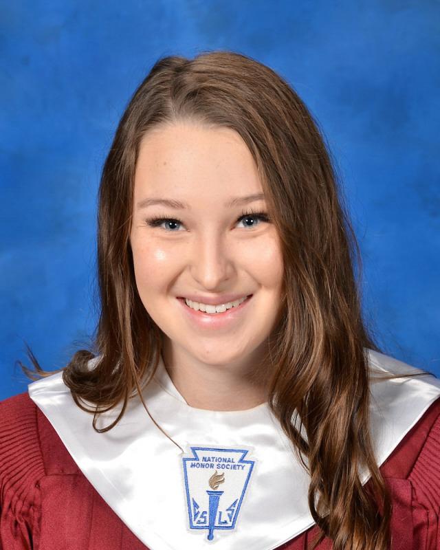 Salutatorian of the Class of 2021, Caitlyn Ingram.
